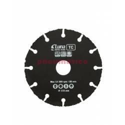 Tarcza tnąca wielofunkcyjna TC Luna 115x1x22,23 mm - Luna