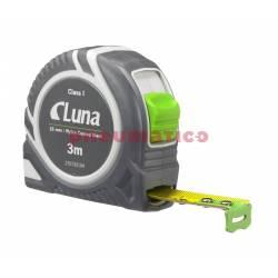 Przymiar taśmowy LPL Push Lock 3 m - Luna