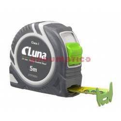 Przymiar taśmowy LPL Push Lock 5 m - Luna