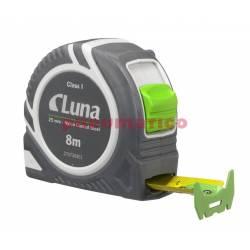Przymiar taśmowy LPL Push Lock 8 m - Luna