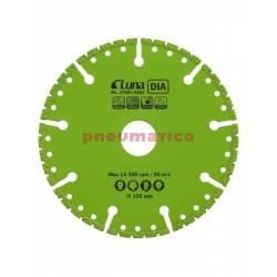 Tarcza tnąca wielofunkcyjna DIA Luna 125x1x22,23 mm