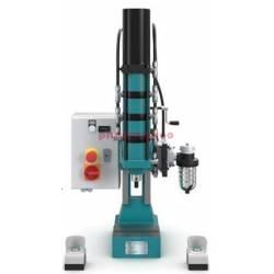 Układ sterowania oburęcznego do pneumatycznych pras dźwigniowych 14 - Luna