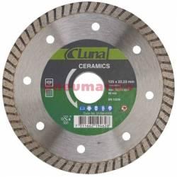 Tarcza tnąca diamentowa Ceramics 125x1,6x22 mm - Luna