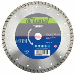 Tarcza tnąca diamentowa 230x7x2,6x22 TUR - Luna
