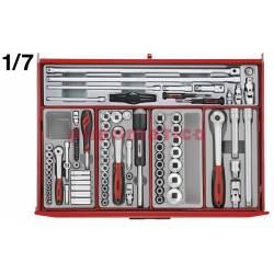 Wózek narzędziowy 282 elementy TCM282 - Teng Tools