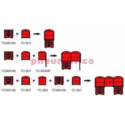 Zestaw montażowy stołu roboczego TC-S02 - Teng Tools