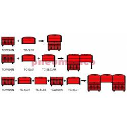 Zestaw montażowy stołu roboczego TC-SL01 - Teng Tools
