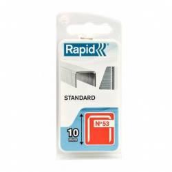 Zszywki Rapid z drutu cienkiego nr 53 (10 mm)
