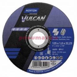 Tarcza Cięcia NORTON VULCAN 125x1 STAL INOX NORTON