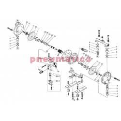 Zestaw naprawczy pompy YAMADA DP-10BAT/BST