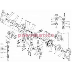 Zestaw naprawczy pompy YAMADA NDP-25BATU/BSTU