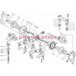 Zestaw naprawczy pompy YAMADA NDP-25BAS/BSS