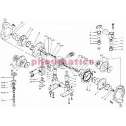 Zestaw naprawczy pompy YAMADA NDP-25BAT/BST