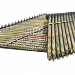 Gwoździe łączone drutem WW 2.8/90 BK RI 1op.- 2.200szt.