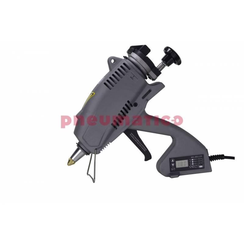 Pistolet mechaniczny na klej w granulacie MS 200 LCD REKA