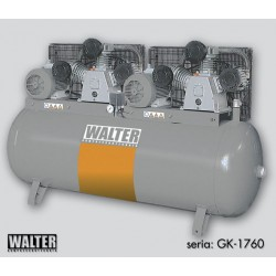 Kompresor - Sprężarka WALTER GK 1760-2x5.5/500 S