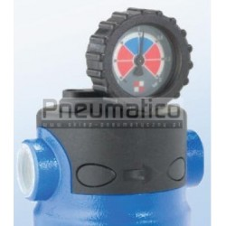 Zegarowy wskaźnik zużycia wkładu filtrującego do filtrów OMI