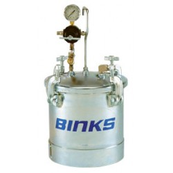 Zbiornik ciśnieniowy do natrysku 83Z-211 - 10L z mieszadłem pneumatycznym BINKS
