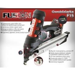 Sztyfciarka akumulatorowa Senco Fusion F15DA 18mm