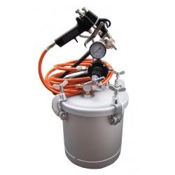 Zestaw - zbiornik ciśnieniowy do natrysku/malowania 10l EZ-145 bez mieszadła węże pistolet