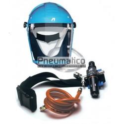 Maska ochronna z hełmem i filtrem IWATA AIRFED 2100