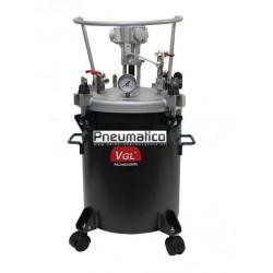 Zbiornik ciśnieniowy do natrysku 40l z mieszadłem pneumat. VGL 40A