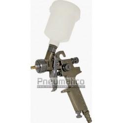 Pistolet lakierniczy zaprakowy MINI HP10-08 z górnym zbiornikiem