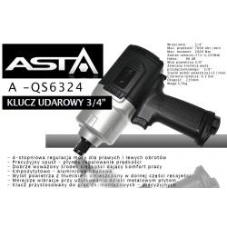 Klucz udarowy ASTA A-QS6234 2000Nm
