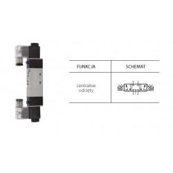 Zawór elektropneumatyczny 5/3 BISTAB. CO 1/8 TG-3512-06C