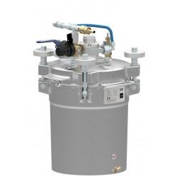 Zbiornik ciśnieniowy do malowania z mieszadłem DÜRR POT 10A