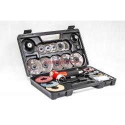 Szlifierko-polerka pneumatyczna w zestawie VGL SA4107K 15.000 obr/min