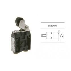 Zawór ręczny dźwignia z rolką -sprężyna 2/2 NO PNEUMAX