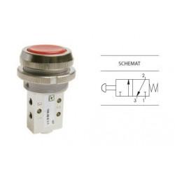 Przycisk ∅30 mm sprężyna 3/2 PNEUMAX