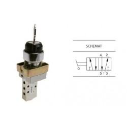 Przełącznik z kluczem dwupozycyjny 5/2 PNEUMAX