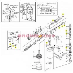Komplet naprawczy nitownicy pneumatycznej JAT-6034-RK