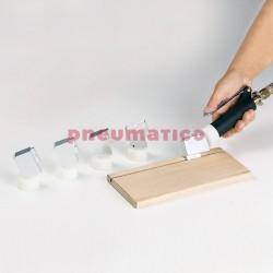 Pojedyncza dysza łopatkowa do wpustów 30x100x6 mm Pizzi 0021