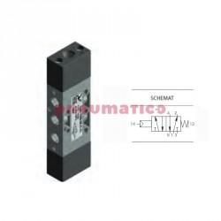 """Zawór pneumatyczny sprężyna T228.52.11.1 5/2 PNEUMAX 1/8"""""""