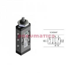 """Zawór pneumatyczny popychacz panel - sprężyna T228.52.1.1 5/2 PNEUMAX 1/8"""""""