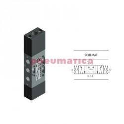 """Zawór pneumatyczny trójpozycyjny CC T228.53.33.11.11 5/3 PNEUMAX 1/8"""""""