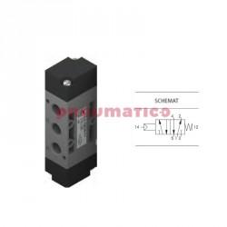 """Zawór pneumatyczny sprężyna T224.52.11.1 5/2 PNEUMAX 1/4"""""""