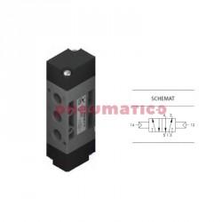 """Zawór pneumatyczny bistabilny T224.52.11.11 5/2 PNEUMAX 1/4"""""""