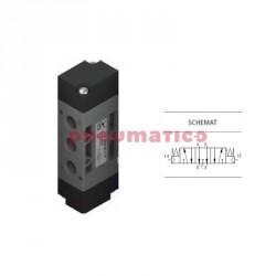 """Zawór pneumatyczny trójpozycyjny CO T224.53.32.11.11 5/3 PNEUMAX 1/4"""""""