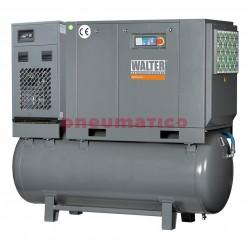Kompresor śrubowy WALTER SKTG 15 [8/10/15 bar] COMBO