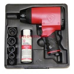Klucz udarowy CP749KM 1/2 847Nm - 5 nasadek  walizka