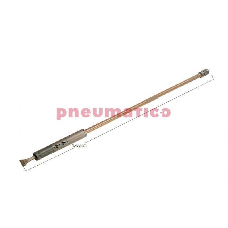 Skrobak pneumatyczny Nitto KOHKI S-1000 wymiary