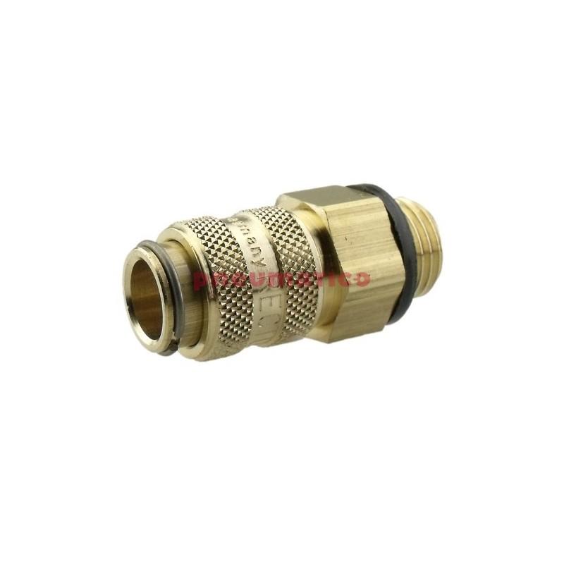 Szybkozłącze niskociśnieniowe żeńskie z gw.zew typ 21KA