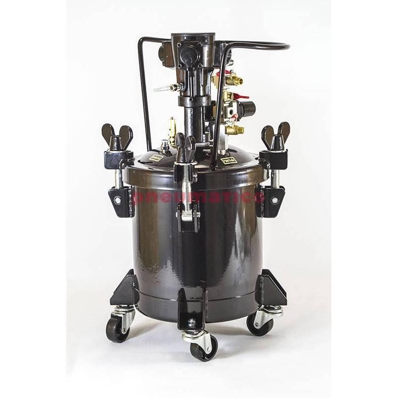 Zbiornik ciśnieniowy do natrysku 10l z mieszadłem pneumat. VGL 10A