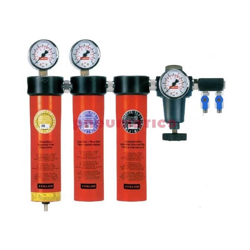 Stacja filtracyjna dla lakiernictwa – 3 elementowa Italco AC-6003