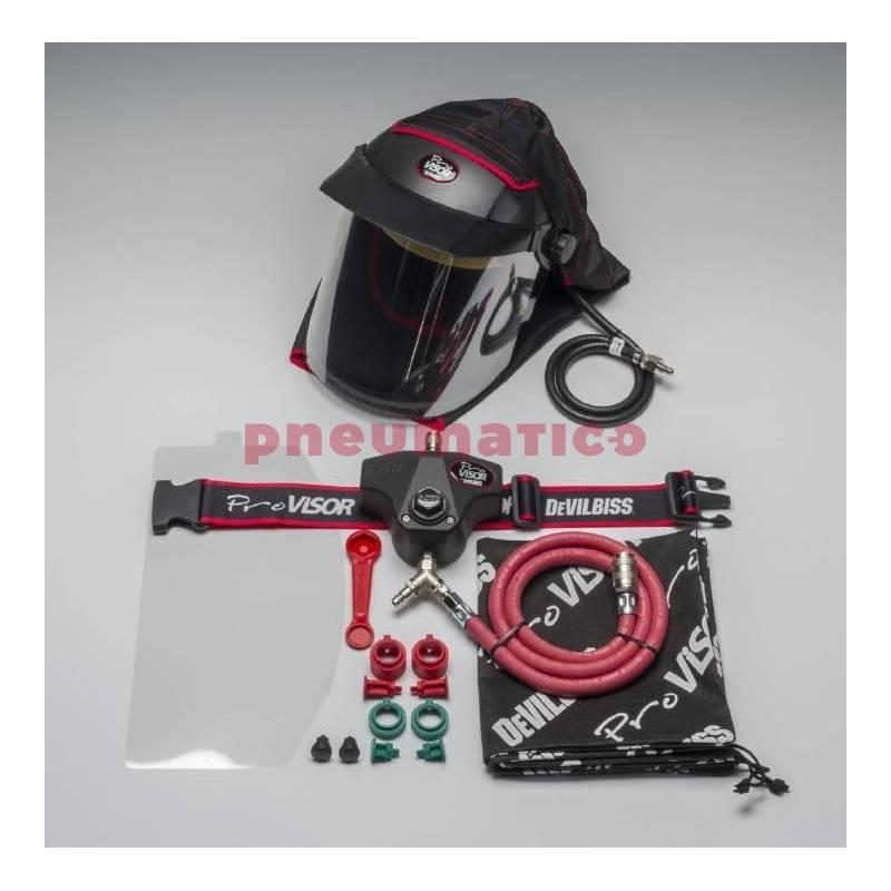 Maska ochronna z hełmem i filtrem DeVilbiss PROV-650