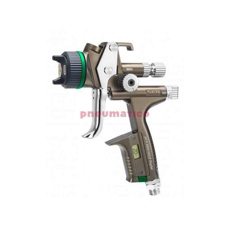Pistolet lakierniczy SATAjet X 5500 HVLP Digital z górnym zbiornikiem